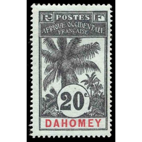 Timbre collection Dahomey N° Yvert et Tellier 23 Neuf avec charnière
