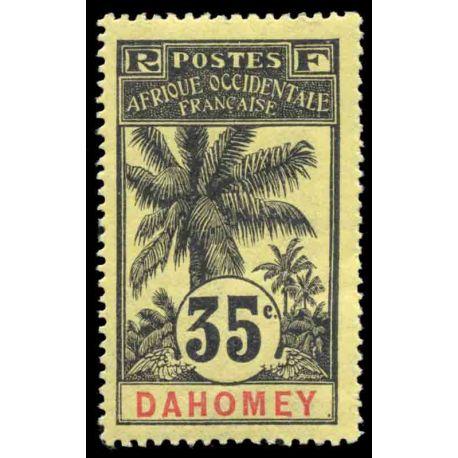 Francobollo collezione Dahomey N° Yvert e Tellier 26 nove con cerniera