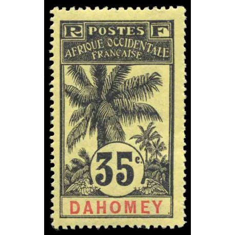 Timbre collection Dahomey N° Yvert et Tellier 26 Neuf avec charnière