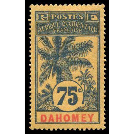 Francobollo collezione Dahomey N° Yvert e Tellier 29 nove con cerniera