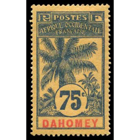 Timbre collection Dahomey N° Yvert et Tellier 29 Neuf avec charnière