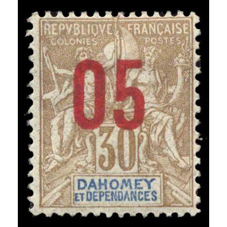 Francobollo collezione Dahomey N° Yvert e Tellier 38 nove senza cerniera