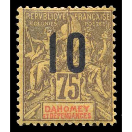 Timbre collection Dahomey N° Yvert et Tellier 42 Neuf sans charnière