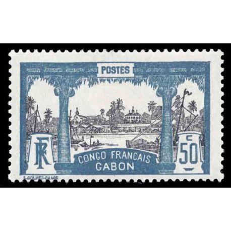 Francobollo collezione Gabon N° Yvert e Tellier 44 nove senza cerniera