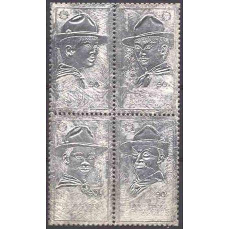 Francobollo collezione Congo N° Yvert e Tellier 311/314 nove senza cerniera