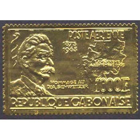 Francobollo collezione Gabon N° Yvert e Tellier PA 41 nove senza cerniera