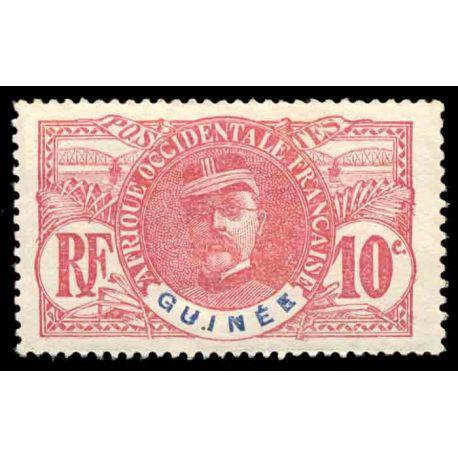 Francobollo collezione Guinea N° Yvert e Tellier 29 nove con cerniera