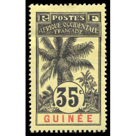 Francobollo collezione Guinea N° Yvert e Tellier 41 nove con cerniera