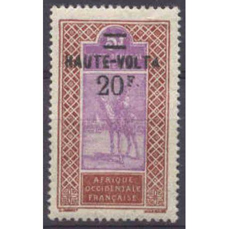 Timbre collection Haute-Volta N° Yvert et Tellier 40 Neuf sans charnière
