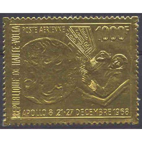 Sello colección Alto Volta N° Yvert y Tellier PA 68 Nueve sin bisagra