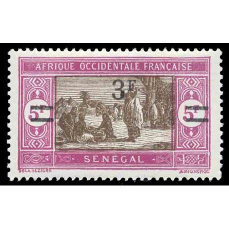 Timbre collection Sénégal N° Yvert et Tellier 99 Neuf avec charnière