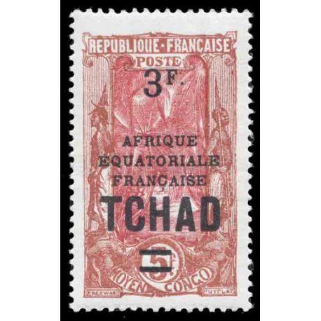 Briefmarke Sammlung Tschad N° Yvert und Tellier 50 neun ohne Scharnier