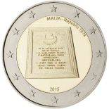 Malta - 2 euro commemorativa 2015 repubblica 1974