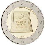 Malta - 2 Euro conmemorativa 2015 de República 1974