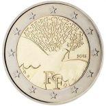 Francia - 2 euro commemorativa 2015 dal 1945 l'Europa