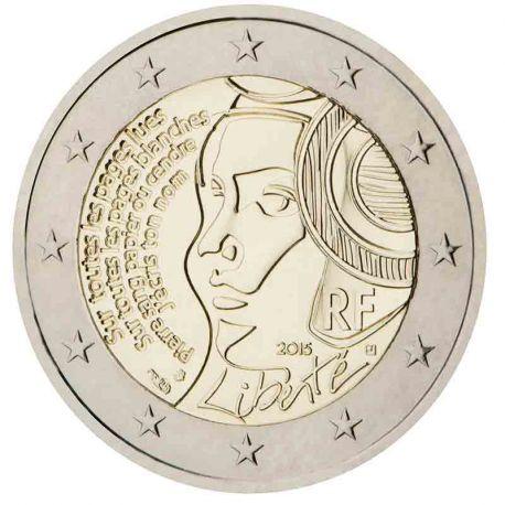 Francia - 2 euro commemorativa 2015 festa della Federazione