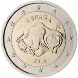 Spanien - 2 Euro Gedächtnis- 2015 Grotte Altamira