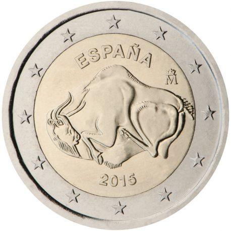 Spagna - 2 euro commemorativa 2015 grotta di Altamira