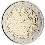 Finlande - 2 Euro commémorative 2015 Jean Sibelius