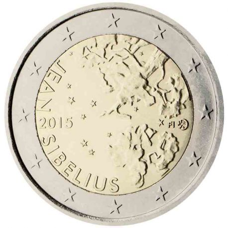 Finlandia - 2 euro commemorativa 2015 Jean Sibelius