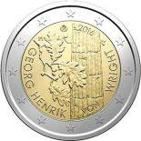 Finland - 2 Euro commemorative 2016 Enrik Von Wright