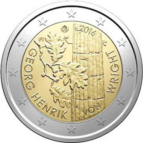 Finlandia - 2 euro commemorativa 2016 Enrik Von Wright