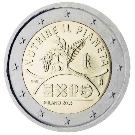 Italien - 2 Euro Gedächtnis- 2015 EXPO Milano 2015
