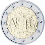 Lituania - 2 euro commemorativa 2015 lingua lituana