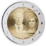 Luxembourg - 2 Euro commémorative 2015 Avènement au trône de S.A.R. le Grand-Duc