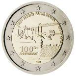 Malta - 2 euro commemorativa 2015 furto da partire da Malta