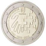 Portugal - 2 Euro Gedächtnis- 2015 Rotes Kreuz portugiesisch