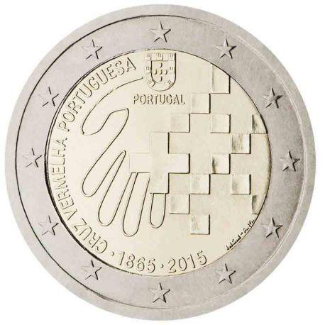 Portogallo - 2 euro commemorativa 2015 Croce Rossa portoghese