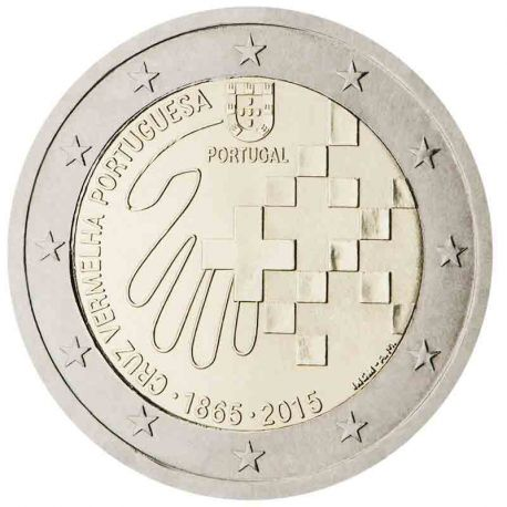Portugal - 2 Euro commémorative 2015 Croix-Rouge portugaise