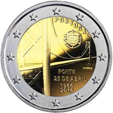 Portugal - 2 Euro commémorative 2016 Pont du 25 avril