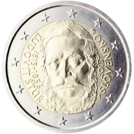 Die Slowakei - 2 Euro Gedächtnis- 2015 Ludovít Stur
