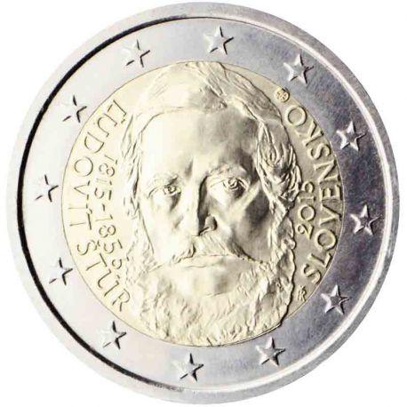 Slovaquie - 2 Euro commémorative 2015 Ludovít Stur