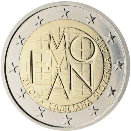Slovenia - 2 euro commemorativa 2015 Emona-Lubiana