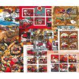 20 blocs modernes oblitérés sur le théme des Pompiers