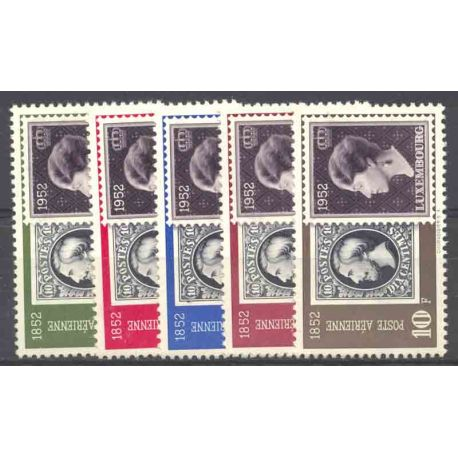 Timbre collection Luxembourg N° Yvert et Tellier PA 16/20 Neuf avec charnière