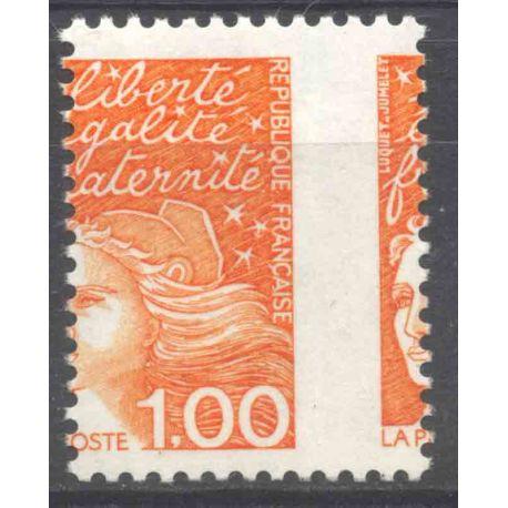 Timbre collection France N° Yvert et Tellier 3089 Neuf sans charnière