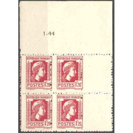 Timbre collection France N° Yvert et Tellier 638 Neuf sans charnière