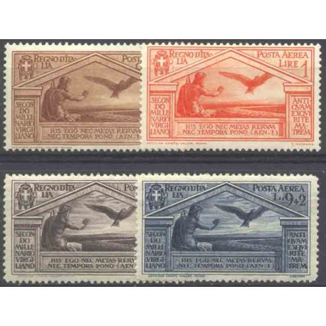 Timbre collection Italie N° Yvert et Tellier PA 21/24 Neuf avec charnière