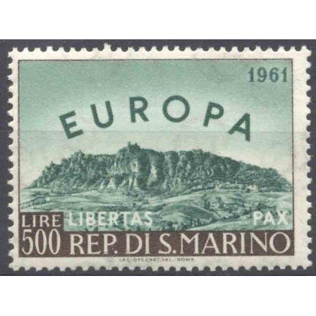 Sello colección San Marino N° Yvert y Tellier 523 Nueve sin bisagra