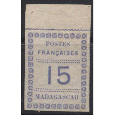 Francobollo collezione Madagascar N° Yvert e Tellier 10 nove senza cerniera