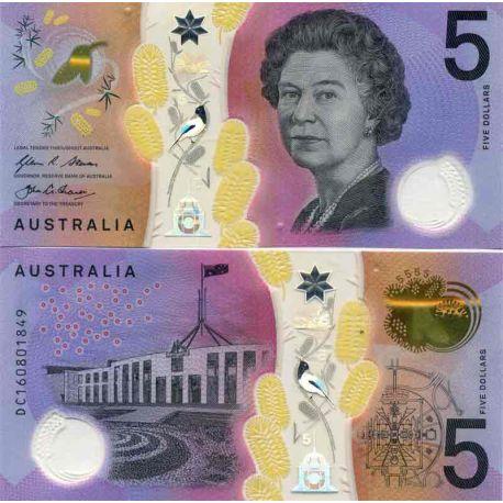 Billets de collection Billet de banque collection Australie - PK N° 62 - 5 Dollars Billets d'Australie 11,00 €
