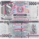 Billet de banque collection Guinee Francaise - PK N° 49 - 5 000 Francs