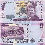 Banknote Sammlung Malawi - PK Nr. 63 - 20 Kwacha