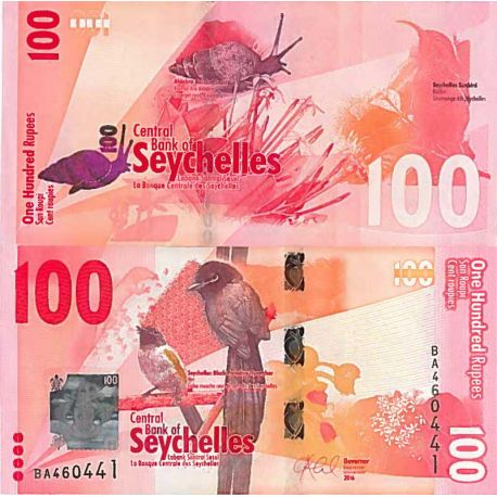 Billet de banque collection Seychelles - PK N° 9999 - 100 Ruppes