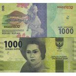 Banknote Sammlung Indonesien - PK Nr. 154 - 1.000 Rupiah