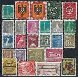 Berlin 1956 Jahr vervollständigt in neuen Briefmarken